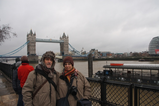 Londres - Quin fred !!!