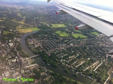 Aterrant a Londres