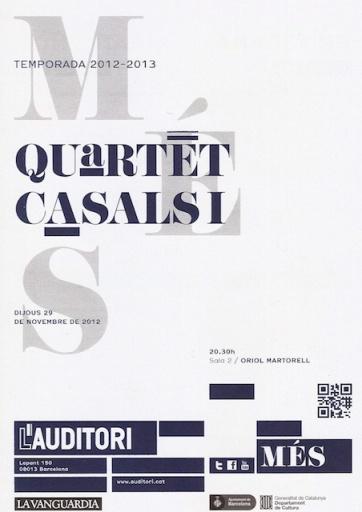 Quartet Casals 1 de 3