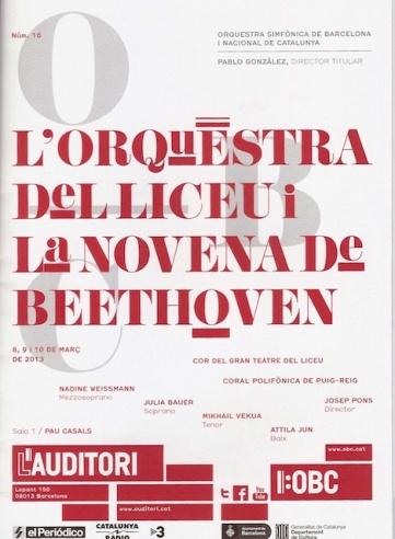 Novena de Beethoven - Orquestra del Liceu 130