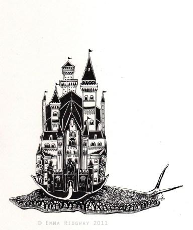 Cargol castell