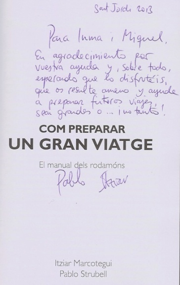 Dedicatoria de Itziar i Pablo -Sant Jordi 2013 6