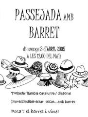 Passejada amb Barret 2005