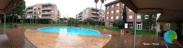 Piscina hotel Corona Tortosa-imp