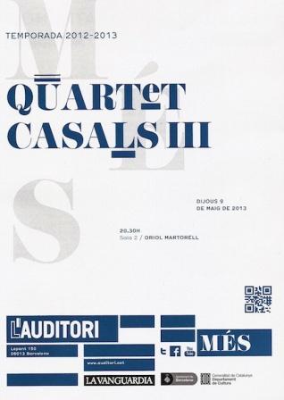 Quartet Casals III
