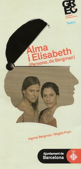 Alma i Elisabeth - Cartell