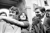 Ettore Garofolo, Anna Magnani i Pier Paolo Pasolini durant el rodatge de Mamma Roma