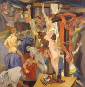 Renato Guttuso. Crucifixió