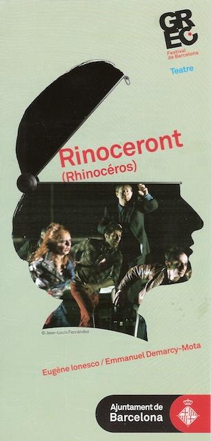 Rinoceront - programa de ma