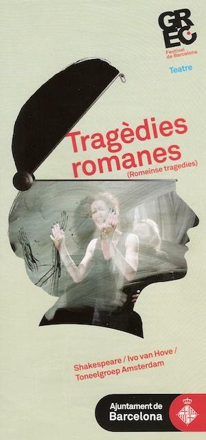 Tragedies romanes - programa