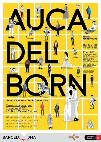 L'Auca del Born - cartell