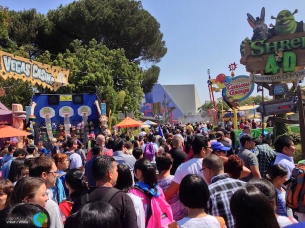 Universal Studios - Molta …molta gent