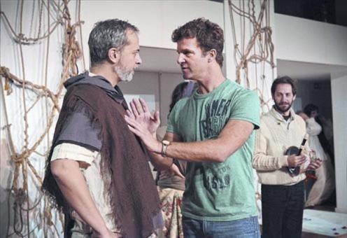 Romeu i Julieta - Teatre Akademia - assaig