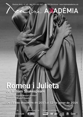 Romeu i Julieta - Teatre Akademia - cartell