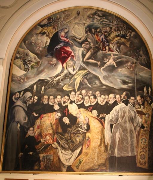 Toledo - El Entierro del Conde de Orgaz