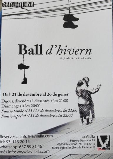 Ball d'hivern - Teatre La Vilella