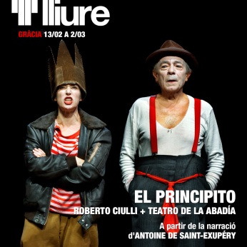 El Principito - Teatre Lliure - cartell