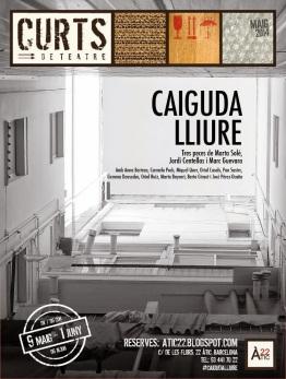 Cartell CAIGUDA LLIURE