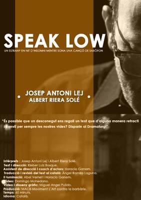 Speak Low
