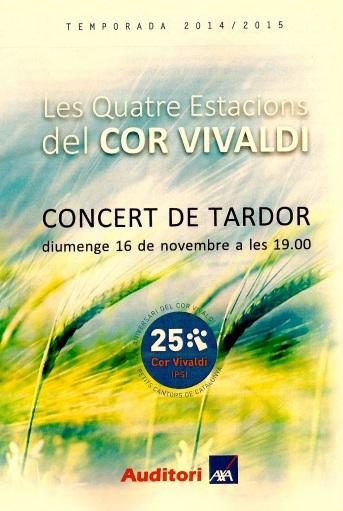Cor Vivaldi - Concert de Tardor