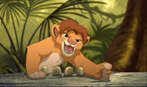 El rei lleo amb cargols
