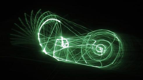 Cargol realitzat amb efectes especials d'ordinador