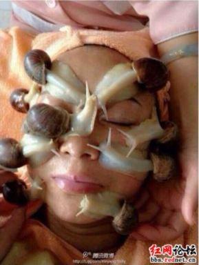 massatge de cargols a Xina