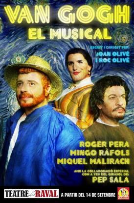 Van-Gogh-El Musical - Cartell