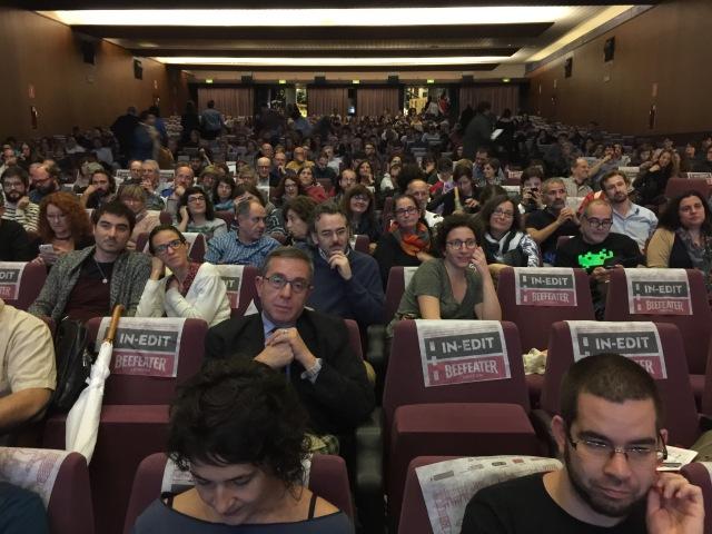 Cinema Aribau - presentació de TCHINDAS - 1