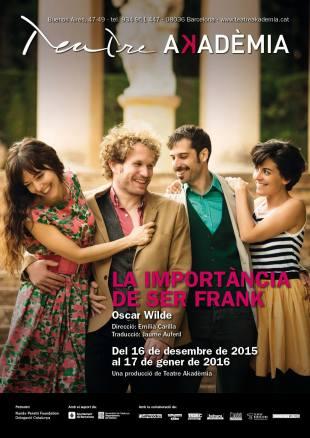 La importància de ser Frank - Teatre Akademia 1