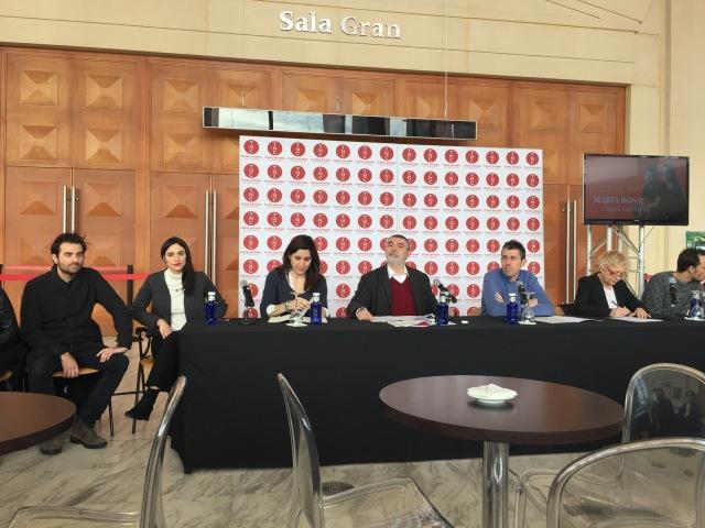 Roda de premsa - EPICENTRE GUIMERA - TNC - 2