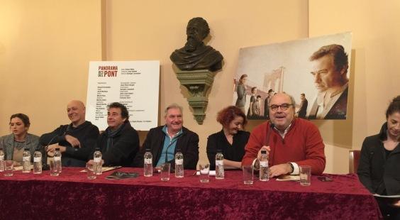 Roda de premsa Panorama des del Pont - Teatre Romea - 1