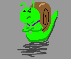 Cargol enfadat