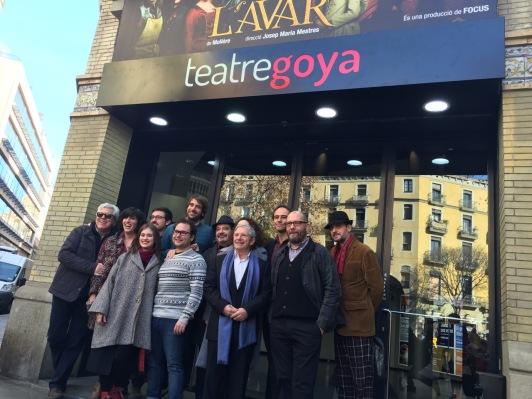 roda de premsa de L'AVAR - Teatre Goya - 1