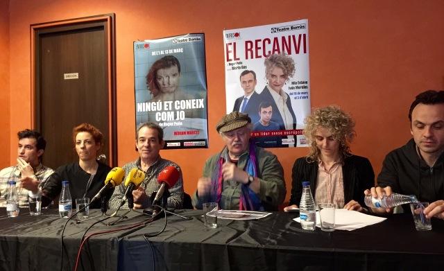Roda de premsa - Roger Peña - Teatre Borràs - 1