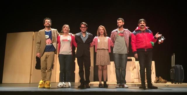 Generació de Merda - Teatre Polorama -salutacions - 1