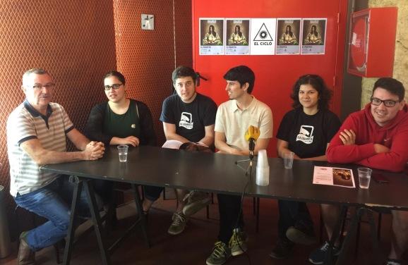 Roda de premsa EL PROFETA - Tantarantana Teatre - Voltar i Voltar - 1