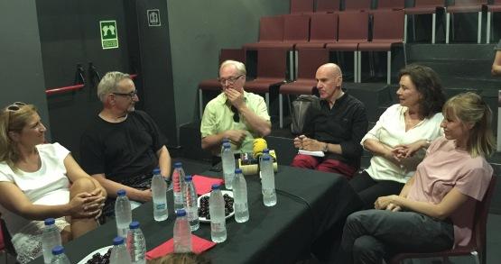 Roda de premsa UNA FAMILIA INDECENT - Teatre Gaudi - Voltar i Voltar 2 - 1