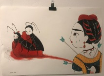 FRIDA KAHLO. Una biografia, de María Hesse - Sala Fènix - il.lustracions de Maria Hesse - - 2