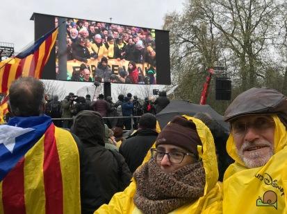 anifestació a Brussel.les - 07.12.2017 - - 19