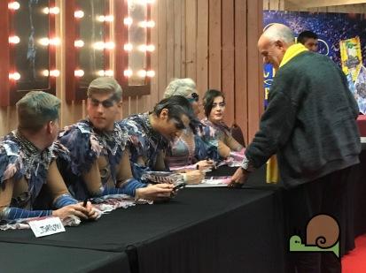 FESTIVAL INTERNACIONAL DEL CIRC ELEFANT D'OR 2019 - Signatures d'artistes - Voltar i Voltar - - 1