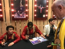 FESTIVAL INTERNACIONAL DEL CIRC ELEFANT D'OR 2019 - Signatures d'artistes - Voltar i Voltar - - 6