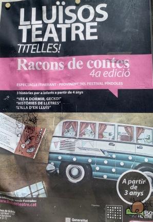 Festival Píndoles - Racons de Contes - Voltar i Voltar - - 1